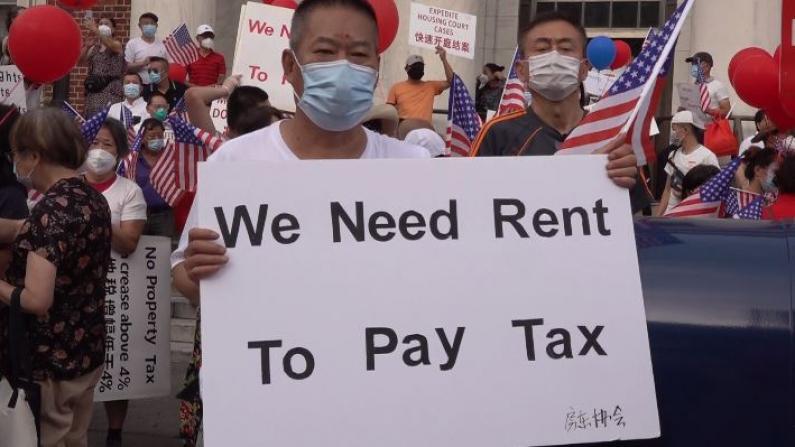 纽约市欲售税收留置权 华人房东:明年更多人恐失房屋 盼政府宽限