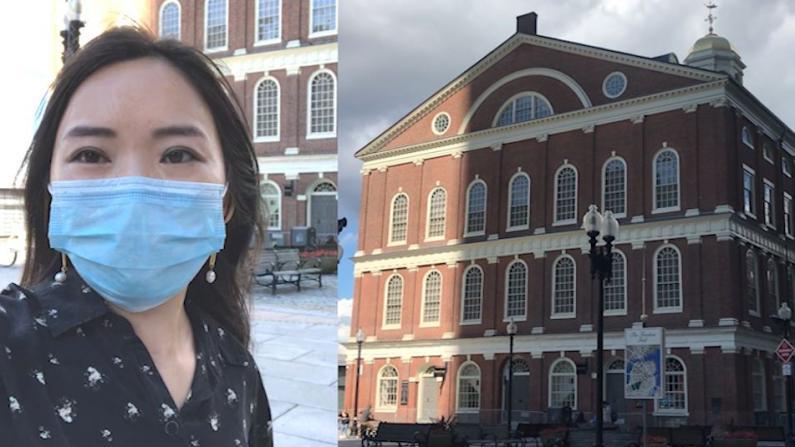 【实拍】难逃疫情冲击 波士顿地标法尼尔厅有多惨...