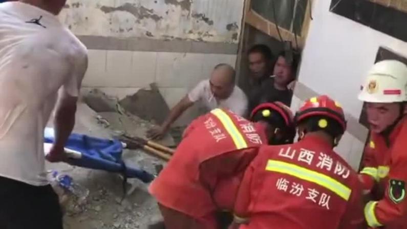 揪心!山西临汾一饭店坍塌酿至少17死 多人重伤