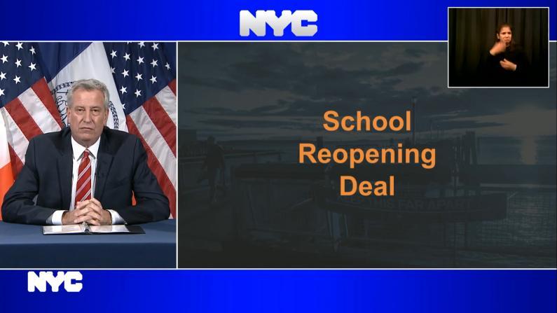 纽约市与教师工会达协议 推迟面授教学至9月21日