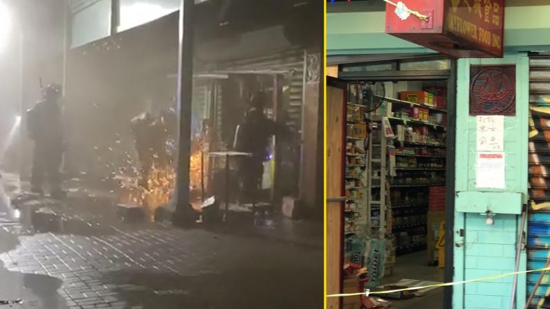 芝加哥华人超市着火 所幸无人员伤亡
