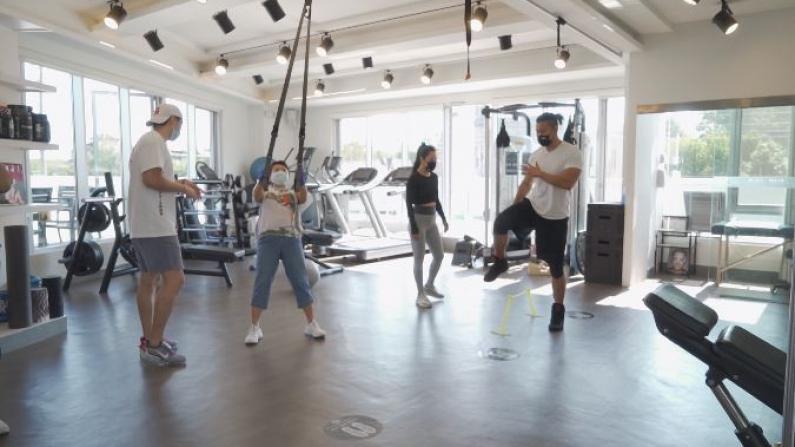 纽约健身房限流重开 华人健身意识提高 线上学员增多