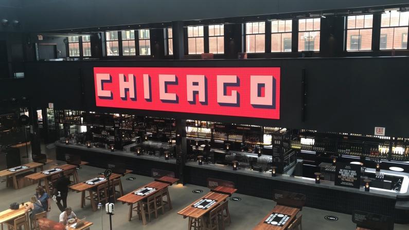 【探访】芝加哥Timeout美食广场重开