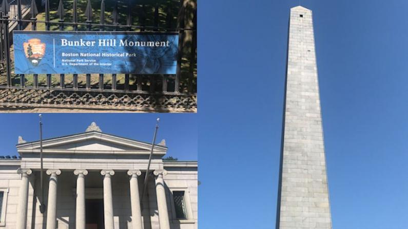 【实拍】劳工节,波士顿地标邦克山纪念碑恢复得怎么样了?