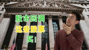 【老李玩钱】股市回调 这3支股票 买它!
