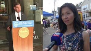 波士顿华裔市议员明年竞选市长 市长这样回应...