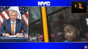 纽约校车9/21恢复服务 成人儿童一视同仁必须戴口罩