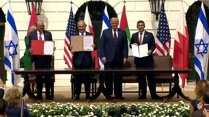 【现场】中东3国签外交正常化协定 川普:迎来新中东的黎明