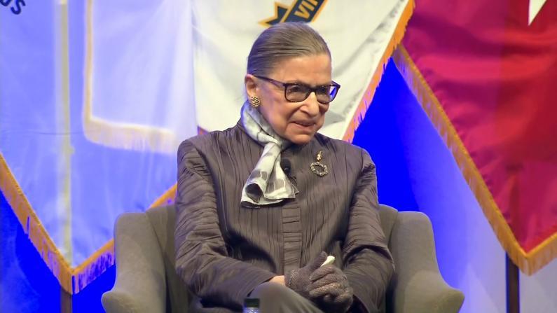 美国女权先驱金斯伯格大法官去世 川普:她有着精彩的人生