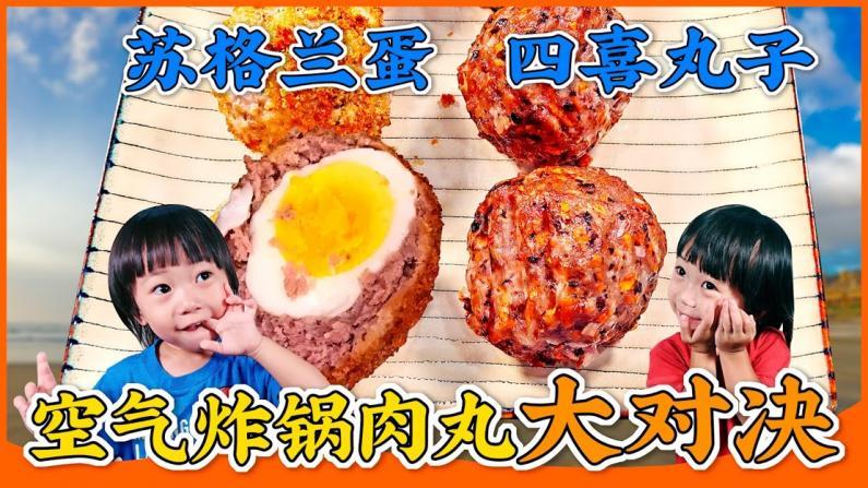 【佳萌在美国】中西肉丸对决,哪个更好吃?