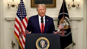 川普联大一般性辩论吁追究中国疫情责任 号召他国效仿美国优先