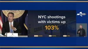 """""""像川普一样只会许愿""""纽约州长狠批纽约市官员犯罪问题不作为"""