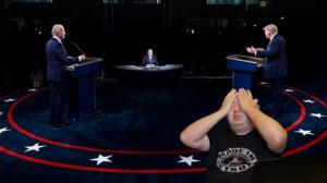 【佛州生活】看了昨晚首场辩论...不想说谁是赢家 但输家一定是美国