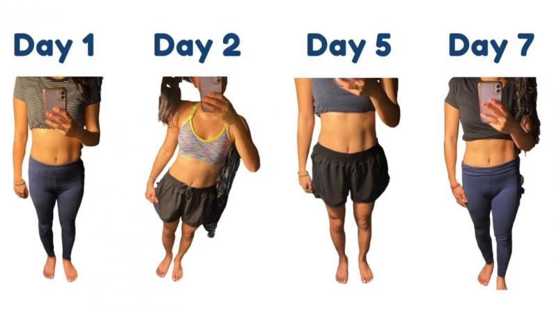 【正能量生活】坚持做完这5分钟 腹肌养成!