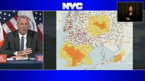 纽约市疫情复燃 10月9日起多区停课停业