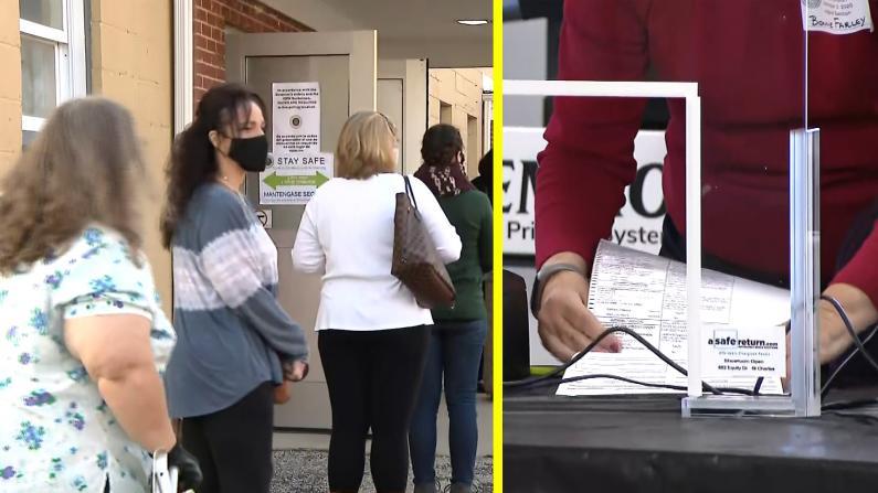 伊州日检测近6万 州长呼吁民众提前投票
