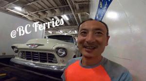 【Trucker刚】去温哥华岛的渡轮上 为什么有这么多房车和古董车?