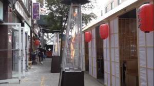 纽约市府政策延迟 取暖器断货价格翻倍 华人业主:户外用餐更难做了