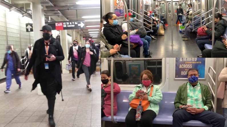 【实拍】纽约市地铁安全吗?纽约客们这样回答