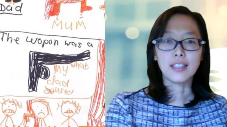 因孩子学业施暴 持刀找妻子要钱... 纽约励馨:半年接华人家暴案500起