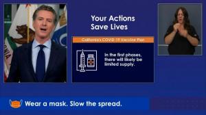 医护、一线和高危人群优先 加州公布新冠疫苗接种计划