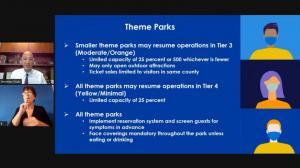 限流25% 疫情传染需降至最低级 加州公布主题公园开放指南