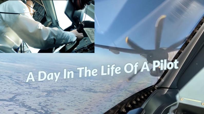 【飞行员日记】从上天到落地 飞行员的一天怎么过?