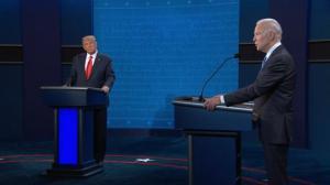 川普和拜登的最后一场辩论 就这些问题交锋