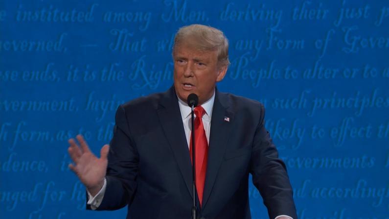 川普辩论中对$750联邦税提出全新说法:我实际交了……