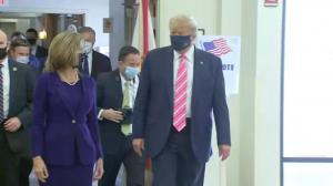 """川普佛州提前投票:""""我投给了一个叫川普的人"""""""