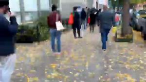 纽约市选民排队3小时提前投票 队伍延绵数个街区