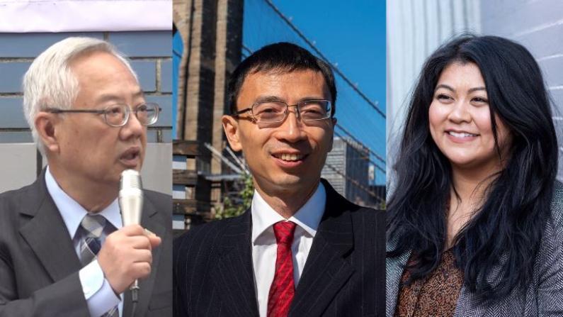 背景更多元 政见大碰撞 2021纽约市级选举华裔参选创新高