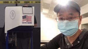 纽约华裔指挥家大选日当票站翻译: 十人培训仅一名华人