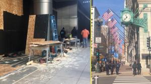 【实拍】大选前一日的芝加哥市中心