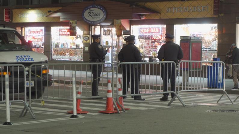 """纽约市选举夜""""全副武装"""" 却是虚惊一场"""