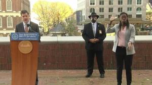 波士顿市长推测本周末有数场游行 提醒游行者别忘疫情