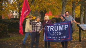 川普支持者多地举行集会 抗议选举结果