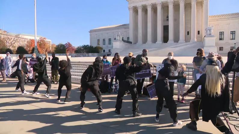 最高法院听取奥巴马健保法案辩论 多名大法官对保留持开放态度
