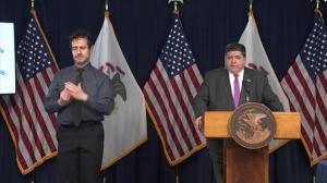 """""""没有其他办法""""伊州长警告强制实行居家令"""
