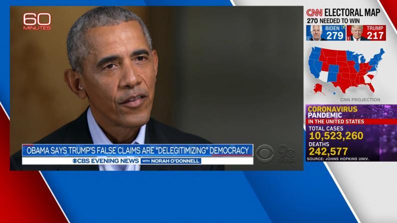 """奥巴马批共和党人""""迁就""""川普:这是一条危险道路"""