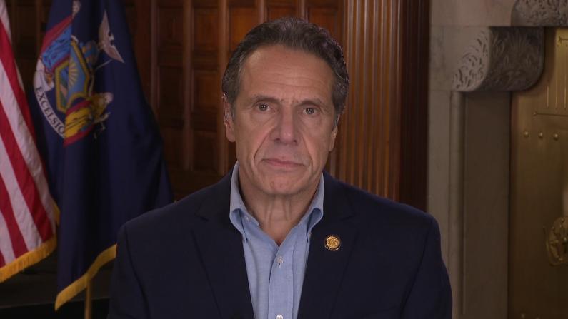 """驳川普""""拒发疫苗""""声明 纽约州长:不会屈服于霸凌"""