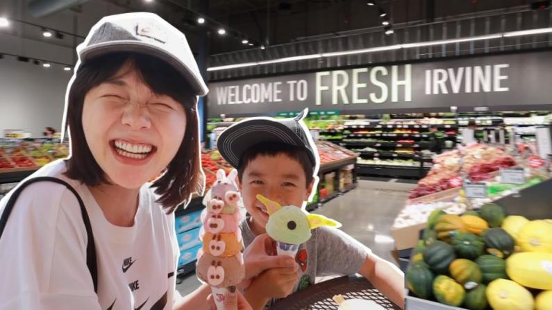 【沛莉一家】疫情期间超实用!逛逛全球第二家亚马逊生鲜无人超市