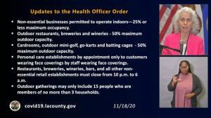 洛杉矶发布新公共卫生令 周五生效