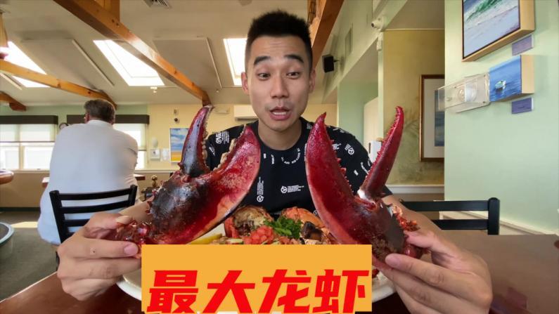 【觅食】我吃到了镇上最大的龙虾!