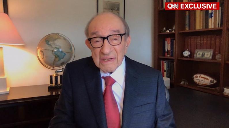 94岁联储前主席格林斯潘谈疫情危机:此情此景从未见过