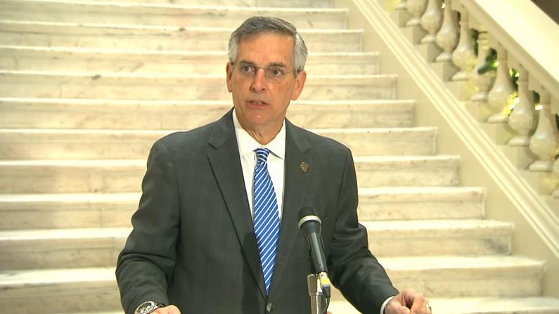 乔治亚手工计票完成拜登获胜 州务卿:数字不会说谎