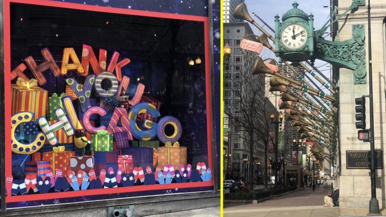 【实拍】疫情下芝加哥的假日季模式
