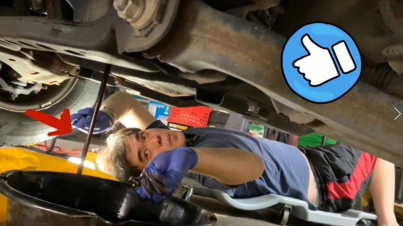 【Rachel生活志】自己怎么给车换机油?教你轻松搞定!