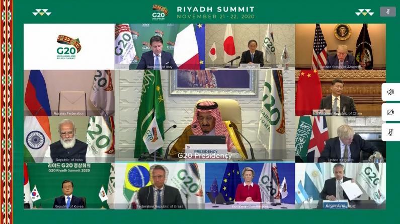 G20峰会开幕川普忙发推特 不参与新冠相关会议改打高尔夫