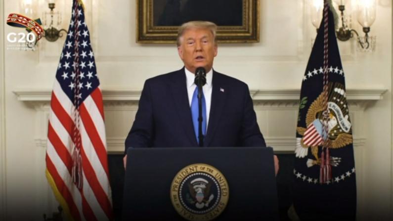 川普G20再抨巴黎气候协定:它旨在杀死美国经济